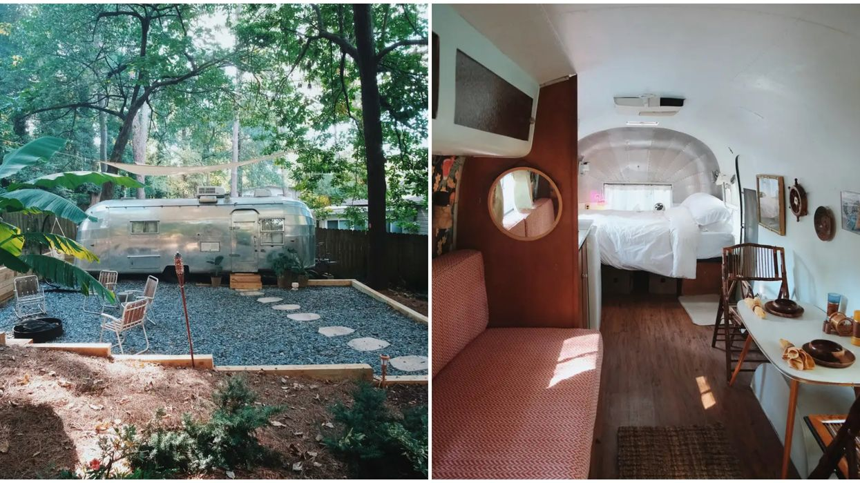 This Airstream Airbnb In Atlanta Is Insanely Cute & Cheap