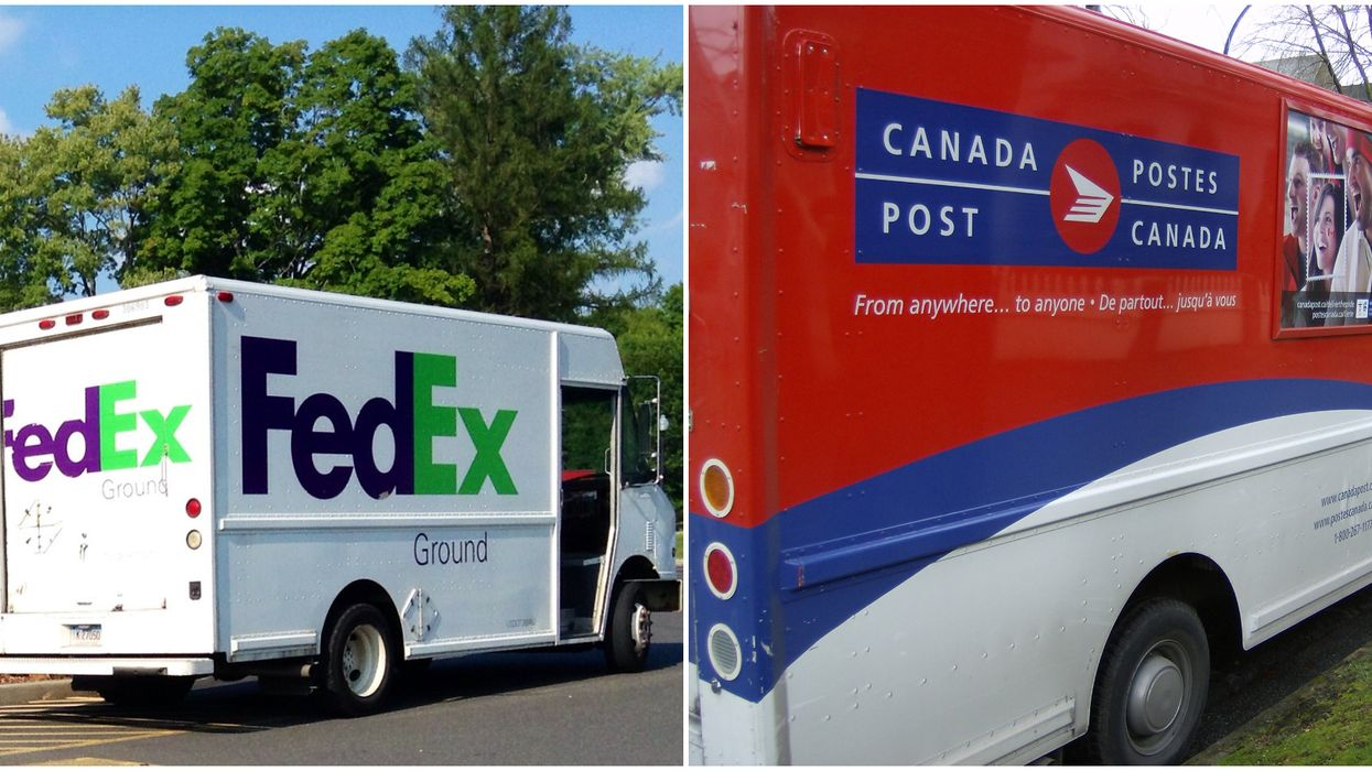 Up to 20% Of Holiday Deliveries Will Be Late & Canada's Biggest Cities Have It The Worst