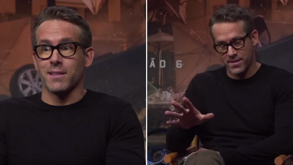 Ryan Reynolds Deadpool Tattoo Reaction