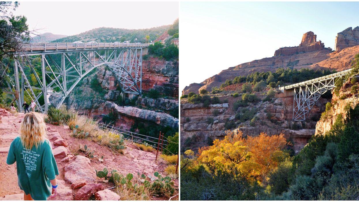 Bridge Hike In Arizona Takes Is Easy & Has Jaw-Dropping Views