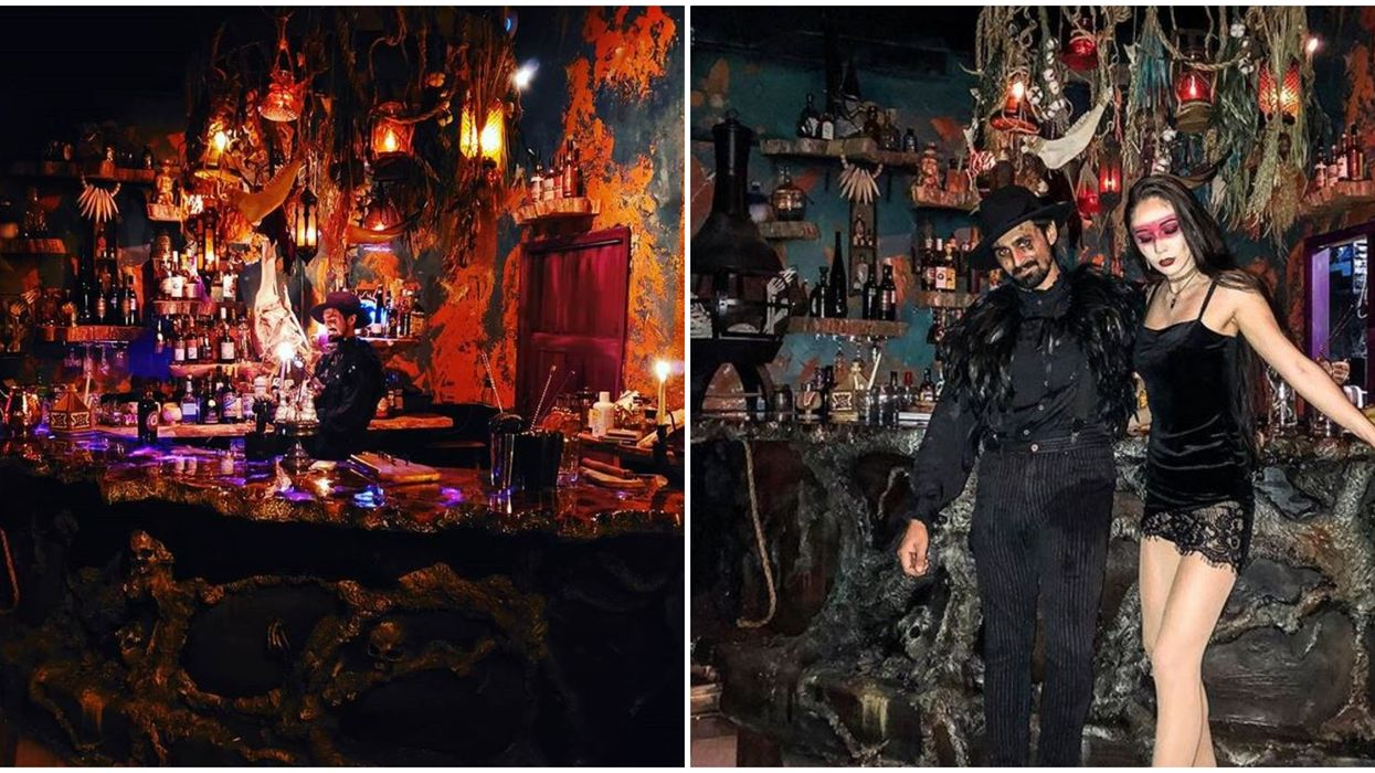 Cocktails And Screams Orlando Just Opened A Hidden Witch Bar