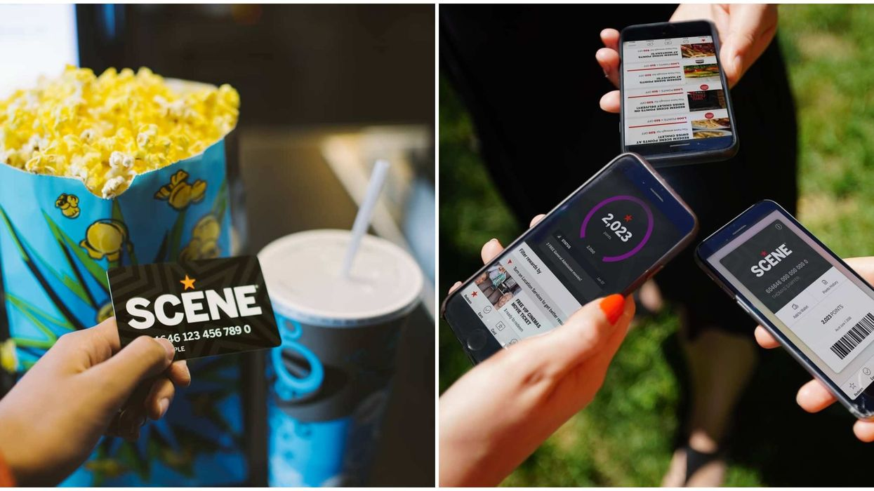 Cineplex SCENE Points Are Safe For Now Even If They Aren't Canadian Anymore