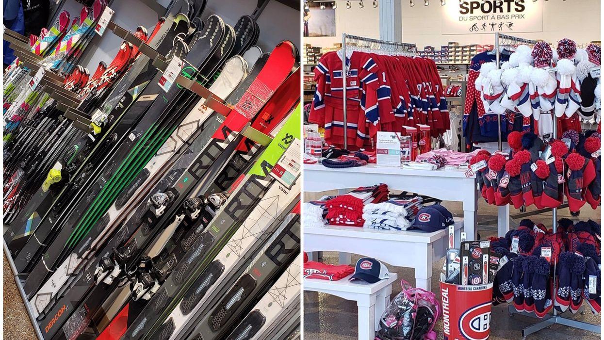 ÉconoSports Laval te propose jusqu''à 60% de rabais sur les produits The North Face, Adidas et plus