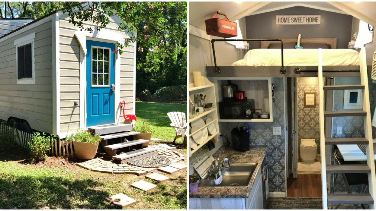 Your Staycation In Atlanta Will Be Super Sweet In This Cute Tiny House Airbnb
