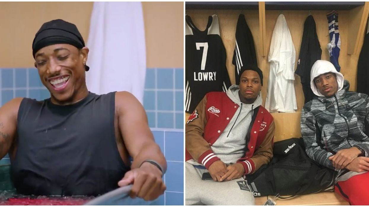 DeMar DeRozan's Cold As Balls Episode Is Out And Of Course He Talks About Kyle Lowry