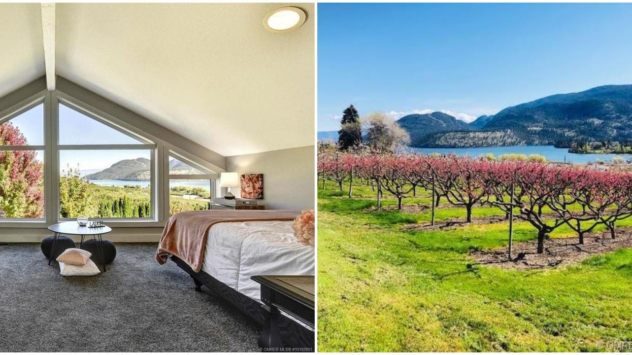 This Charming Farmhouse For Sale In BC Comes With A Private Fruit Orchard (PHOTOS)