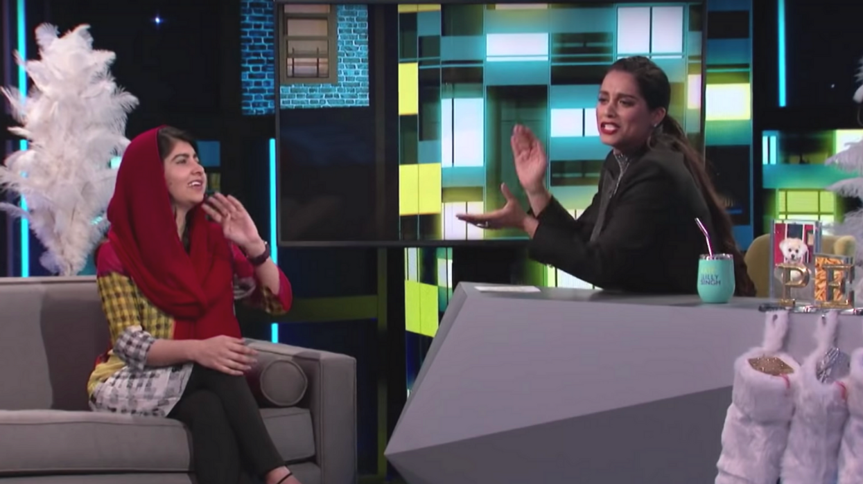 Lilly Singh Was In Malala Yousafzai's First Instagram Selfie & It's So Iconic (VIDEO)