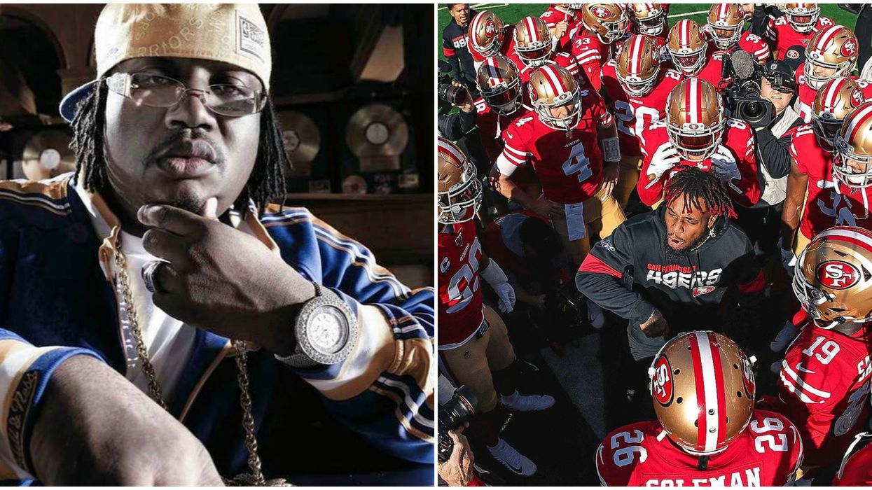 """""""Niners Gang"""" Just Released By E-40 & It's Honestly Pretty Hype"""