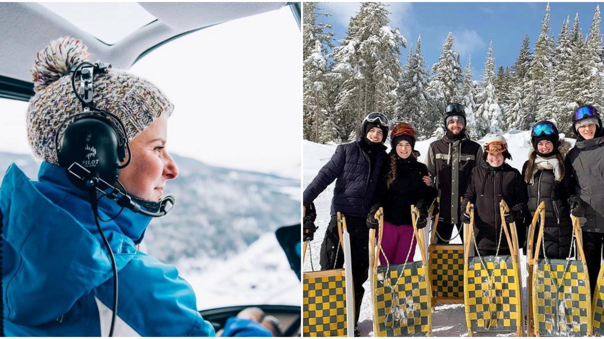 13 activités hivernales au Québec qui vont te donner un rush d'adrénaline
