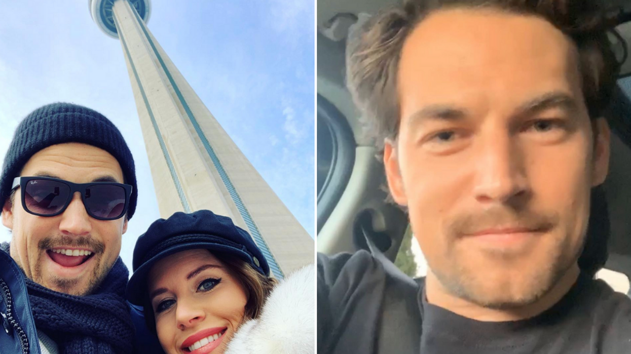 Giacomo Gianniotti Is Home In Toronto For Christmas & Says He Missed The Cold
