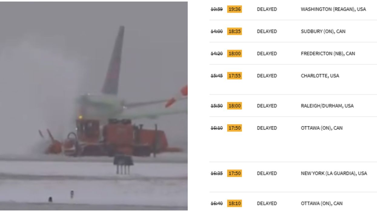 Toronto Pearson Airport Is ExOf Holiday Delays As Masses Of Snow Is Cleared