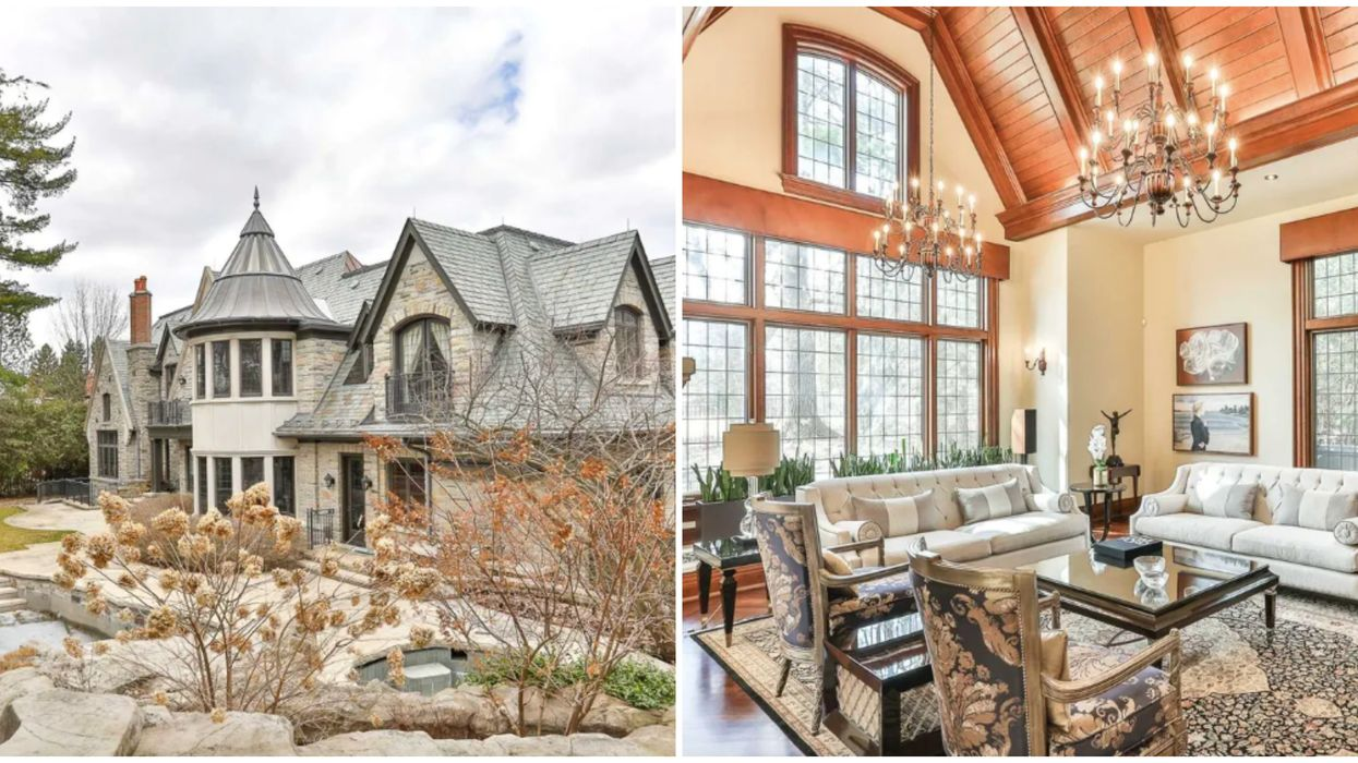 Toronto Mansion For Sale Has Enough Amenities To Keep You Entertained All Winter Long
