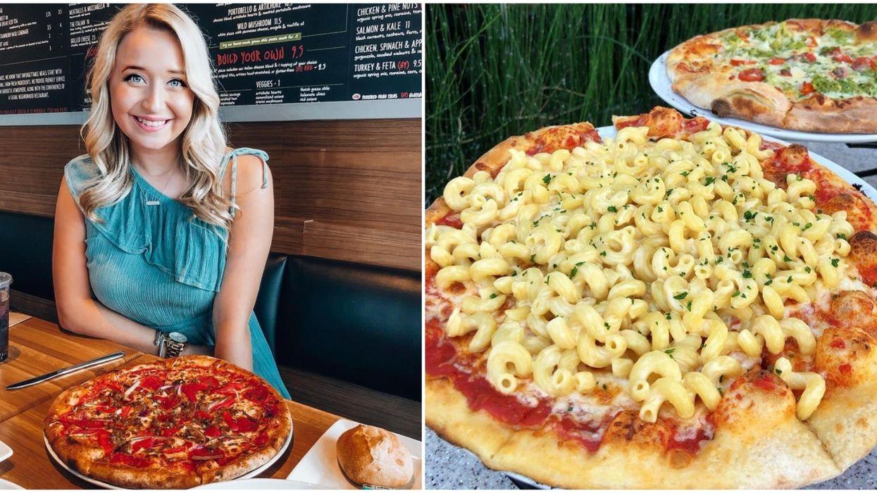 Sauce, A Pizza Restaurant In Dallas, Serves Mac & Cheese Pizza