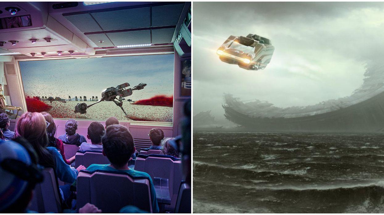 Disney Star Tours Ride Gets Rise Of Skywalker Updates