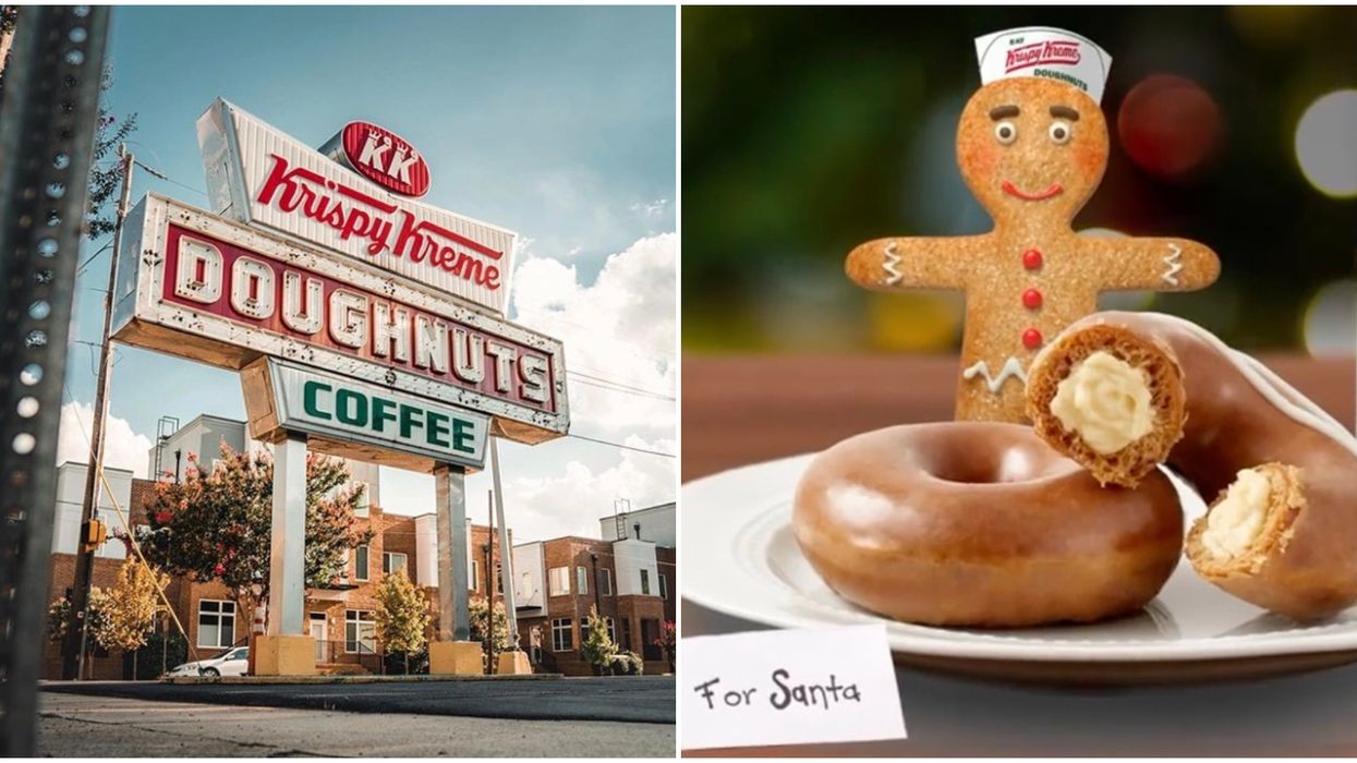Krispy Kreme Canada Is Offering Delicious Gingerbread Donuts Until Christmas Eve
