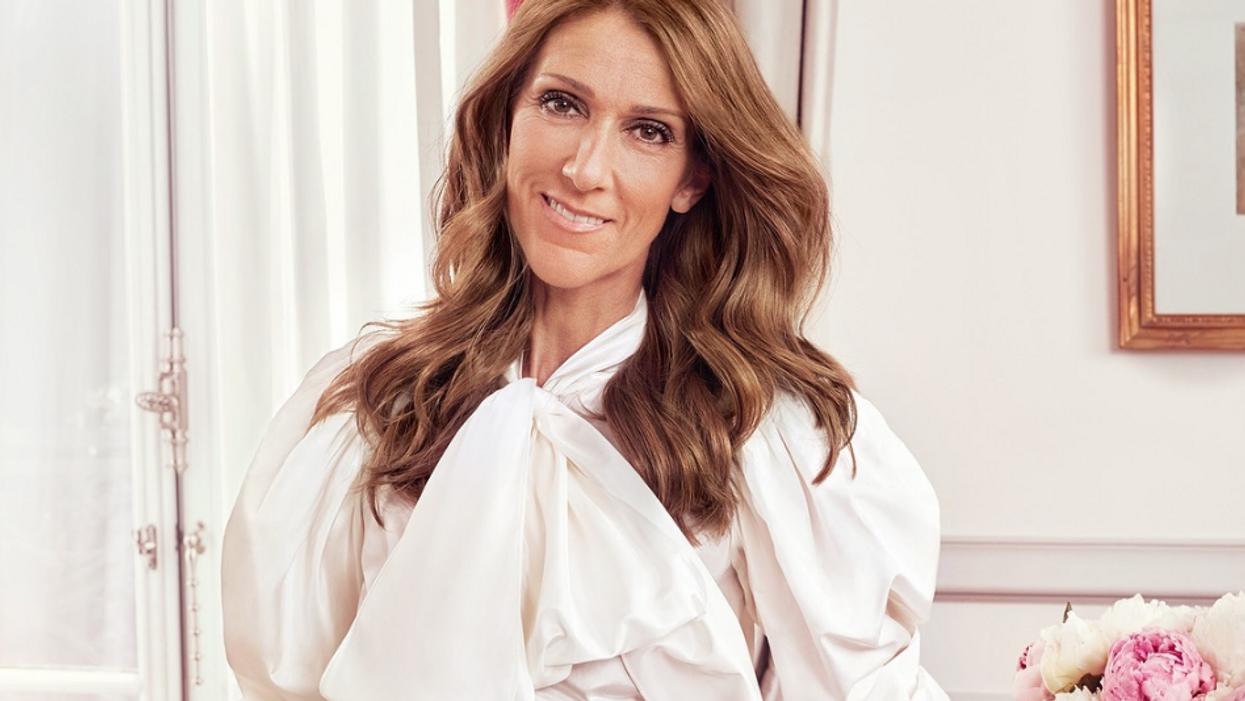 """Celine Dion's """"Courage"""" Tour"""