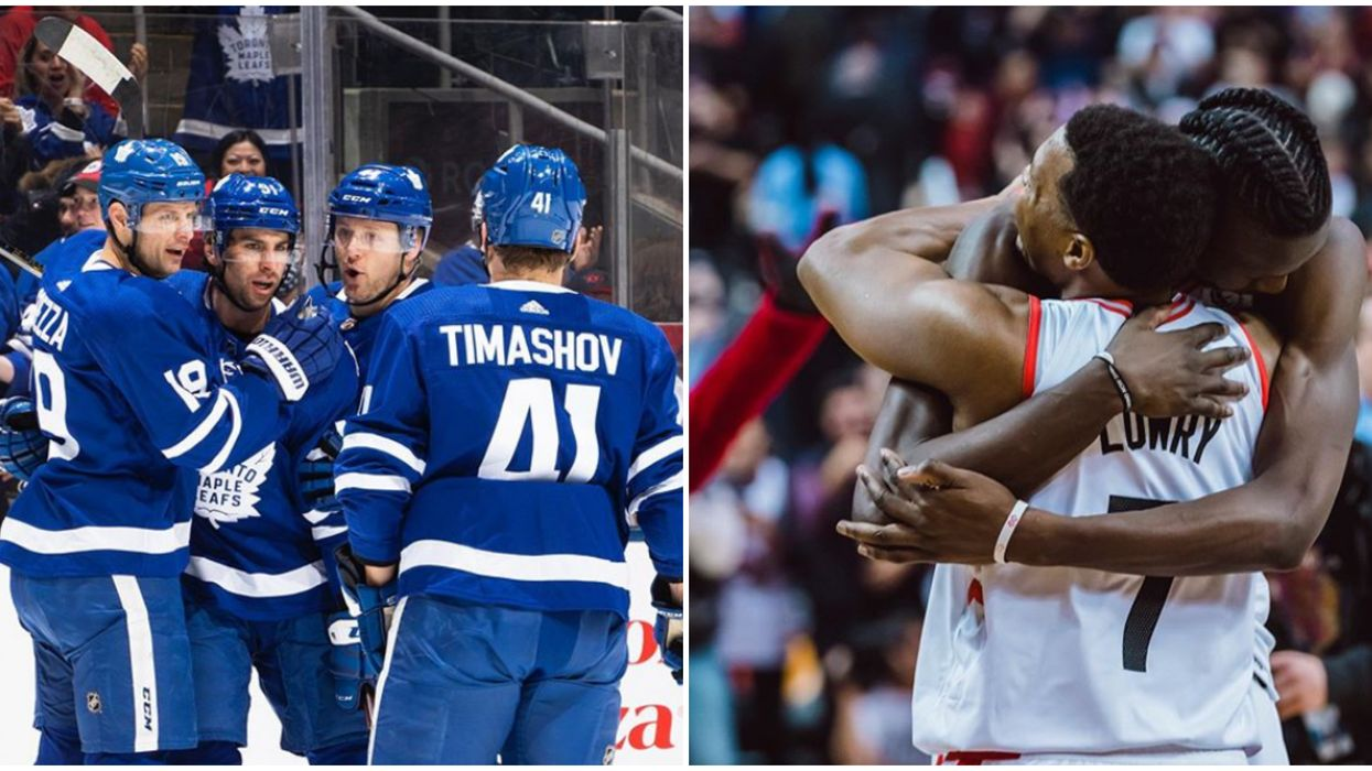 Toronto Maple Leafs Comeback Has The 6ix Going Wild The Day After Raptors Made History