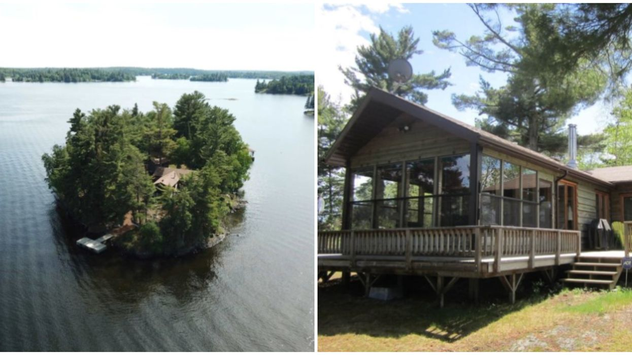 Private Island For Sale In Ontario Is Cheaper Than A Toronto Home