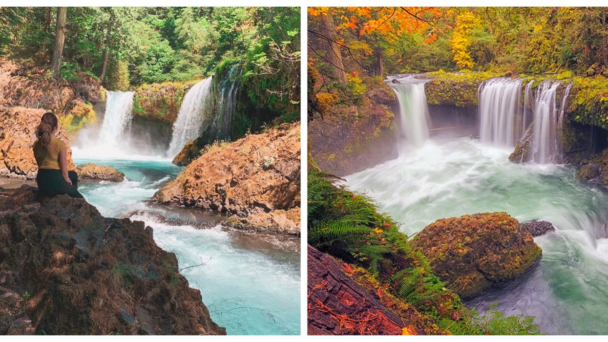 The Spirit Falls In Washington Is One Of The State's Best Kept Secrets