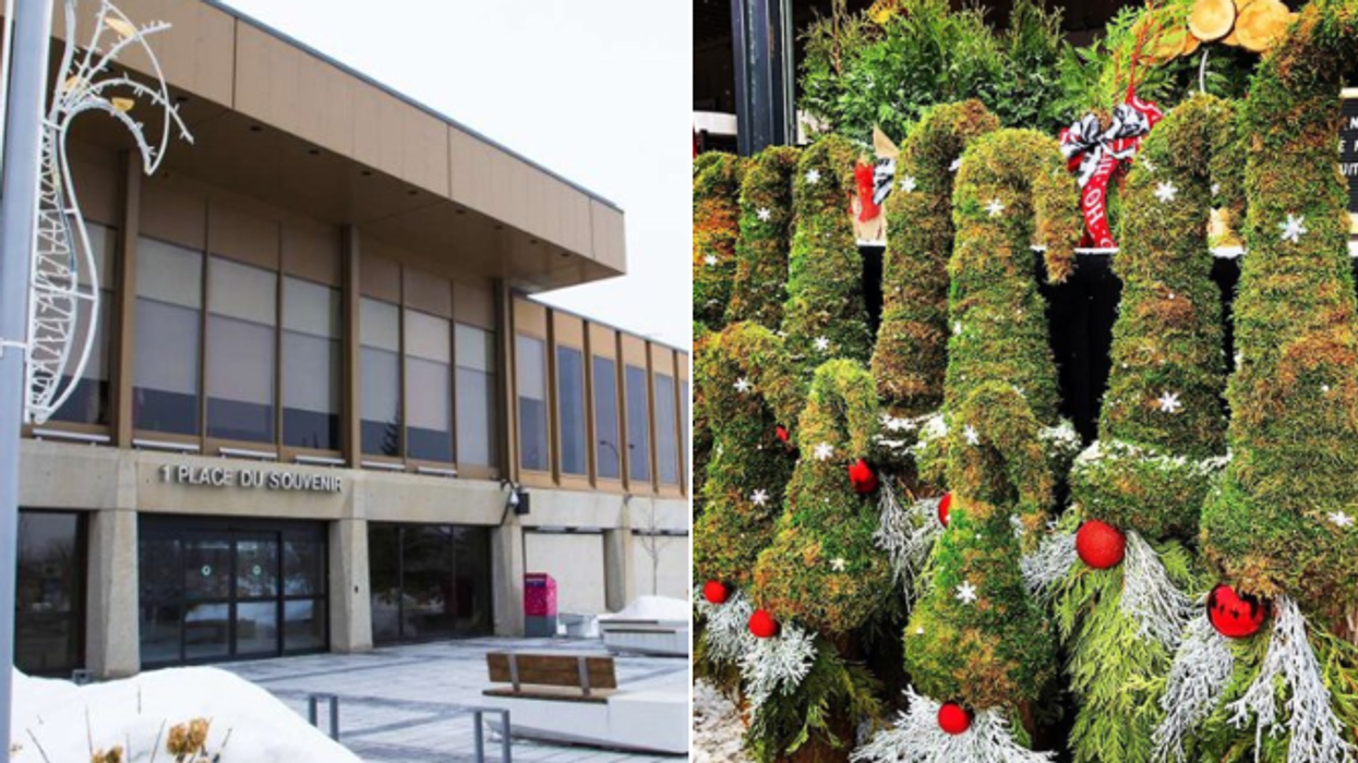 La Ville de Laval « reporte Noël » en raison du manque de neige et c'est hilarant