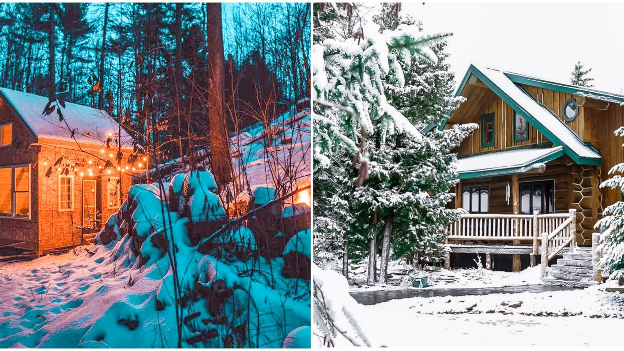 Ontario Winter Airbnbs That Look Like They're Straight Out Of A Hallmark Movie