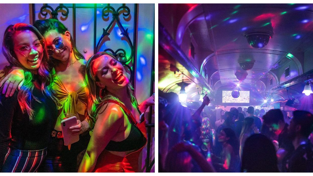 The Orient Express In Seattle Turns Into A 70s Disco Every Saturday
