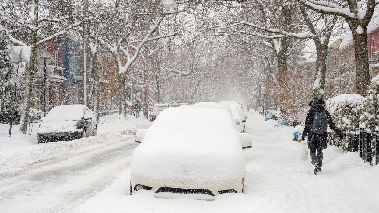 L'année 2019 va se finir avec une tempête de 20 cm de neige au Québec