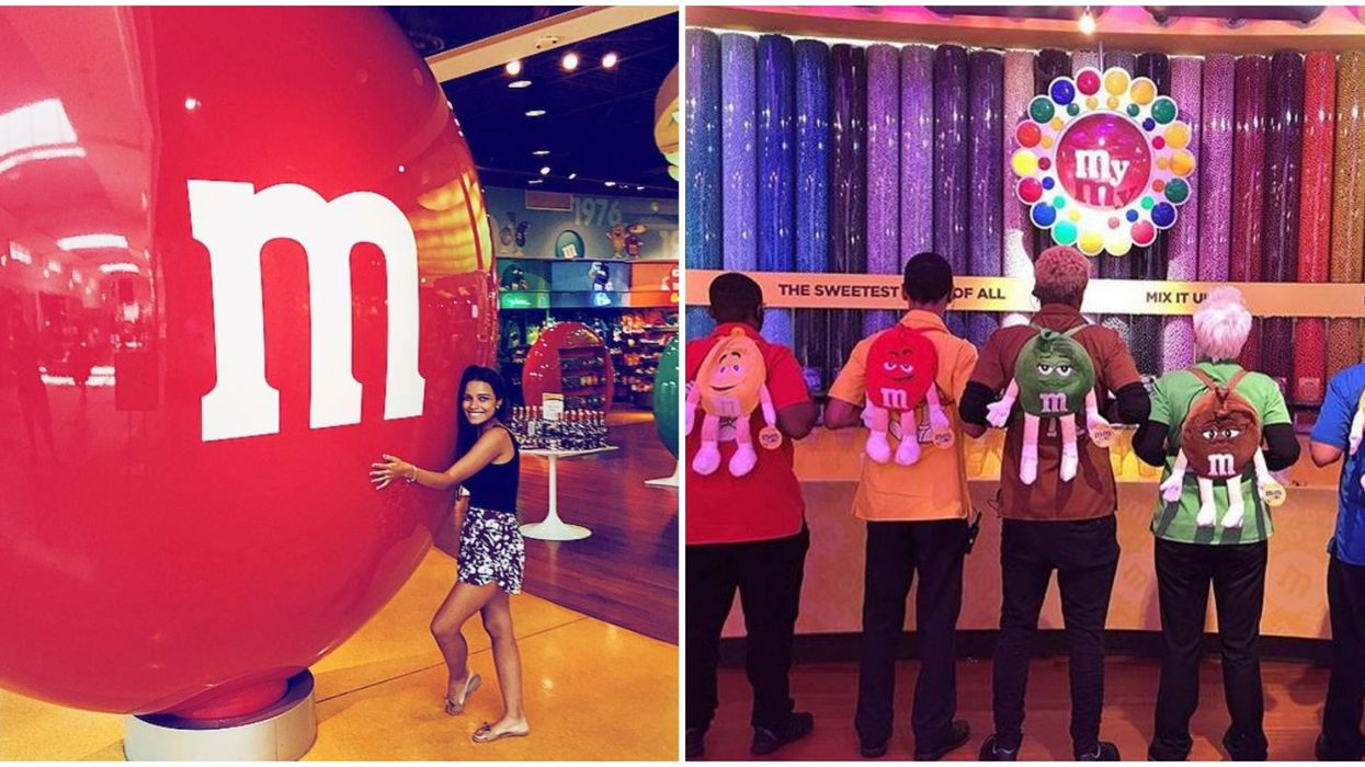 One Of The Biggest M&M Stores In The World Is Opening In Florida & It's Going To Be Sweet