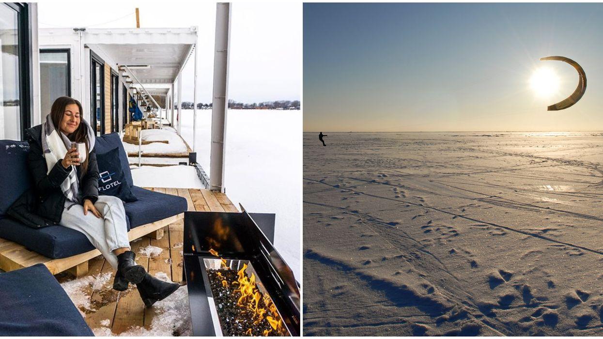 Cet hôtel sur glace situé à 1h de Montréal est l'endroit rêvé pour une escapade hivernale