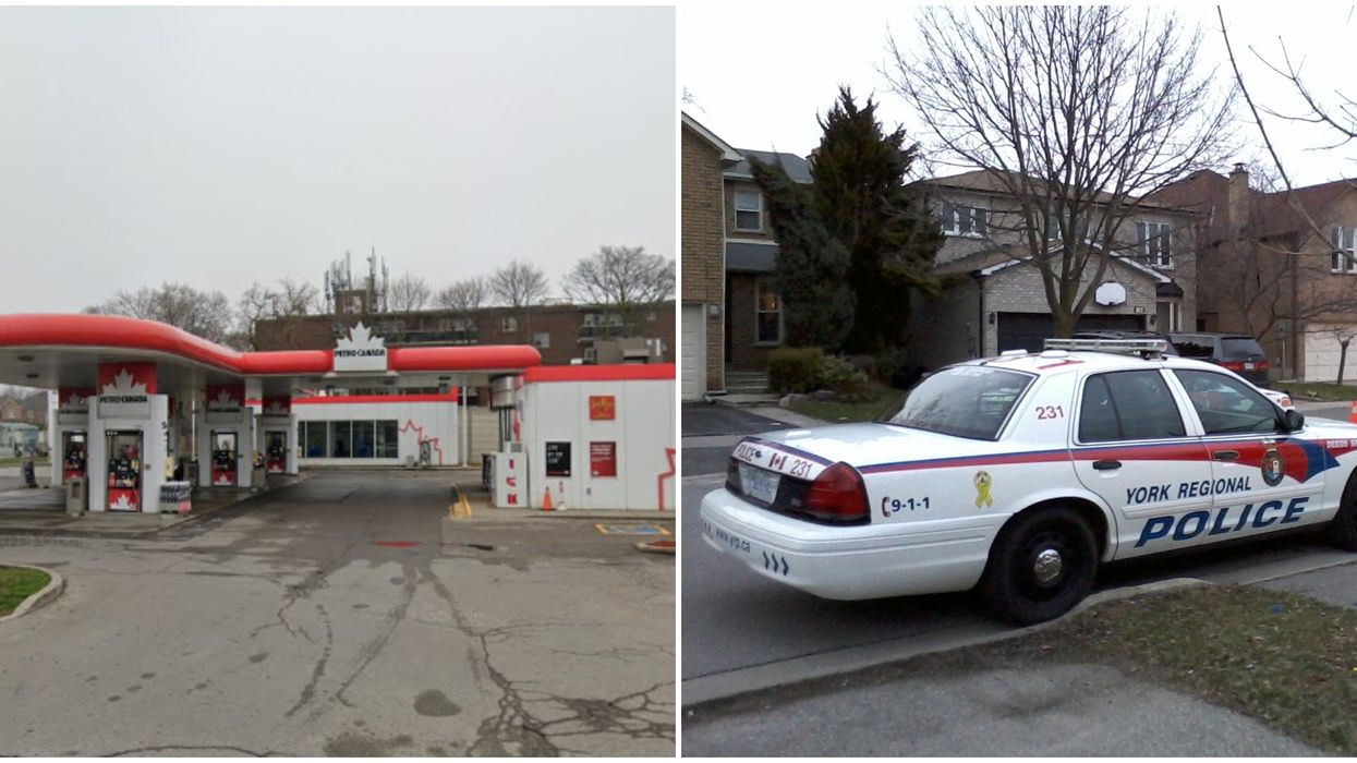 Richmond Hill Shooting Suspect Is Barricaded Inside A GTA House After Shooting At A Cop