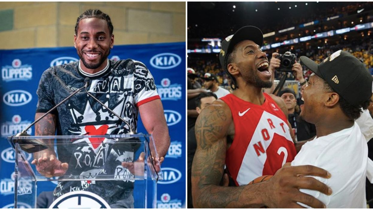 Kawhi Leonard Award Of Male Athlete 2019 Is Getting Seriously Mixed Reactions Online