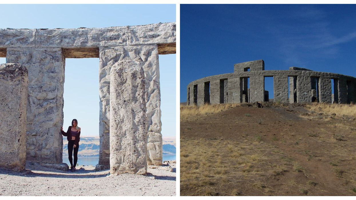 You Can Visit A Massive Stonehenge In Washington For Free