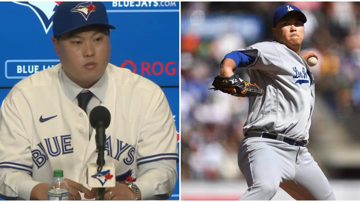 Hyun-Jin Ryu Is The New Blue Jays Pitcher & Fans Are In Love