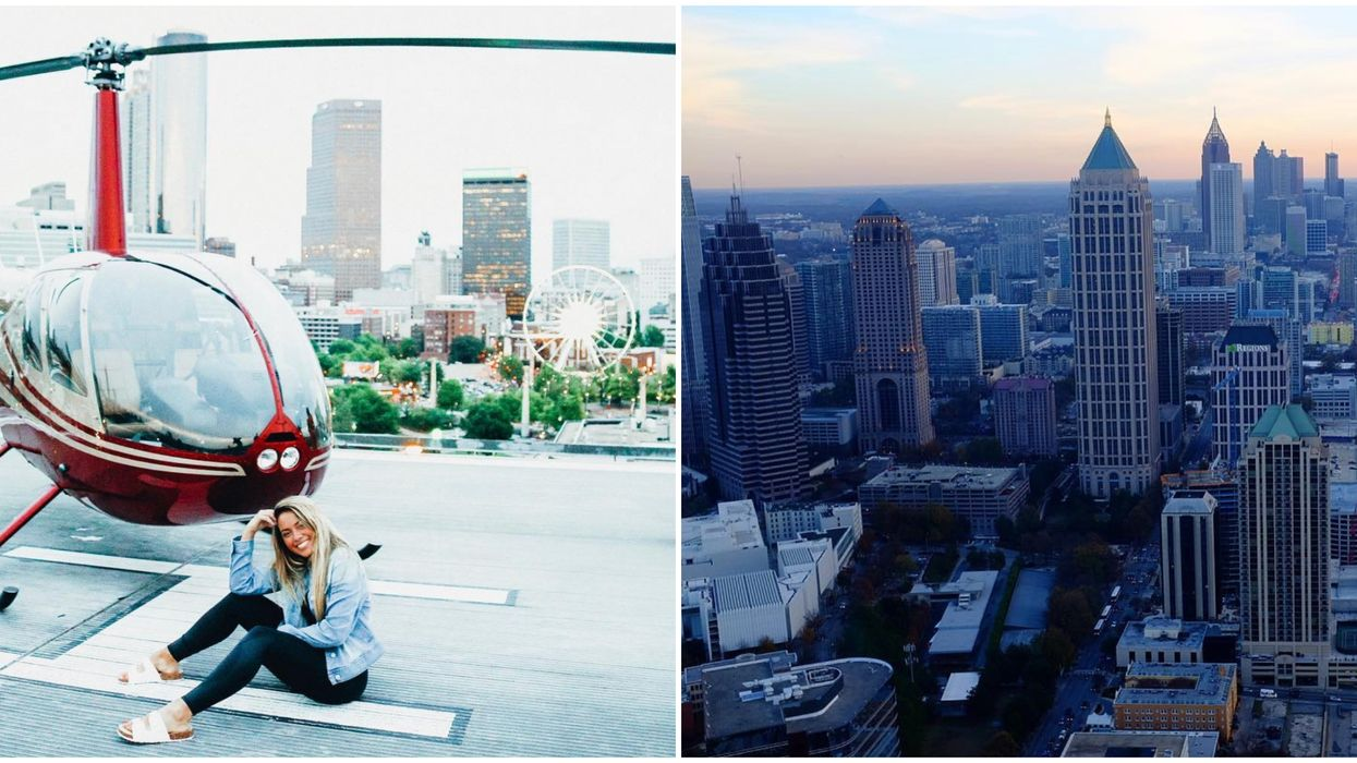 Tour Atlanta In A Helicopter For Super Cheap Right Now