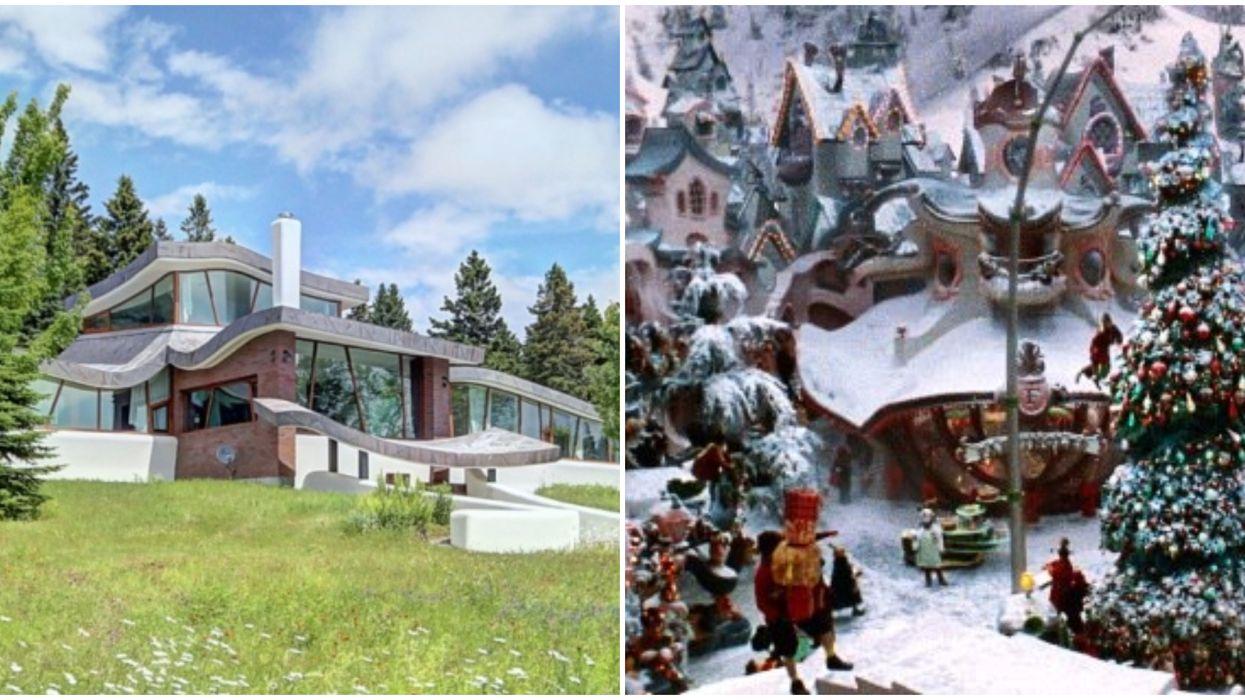 Cette maison de 1,2 M $ à Quebec est digne d'un conte de Dr.Seuss