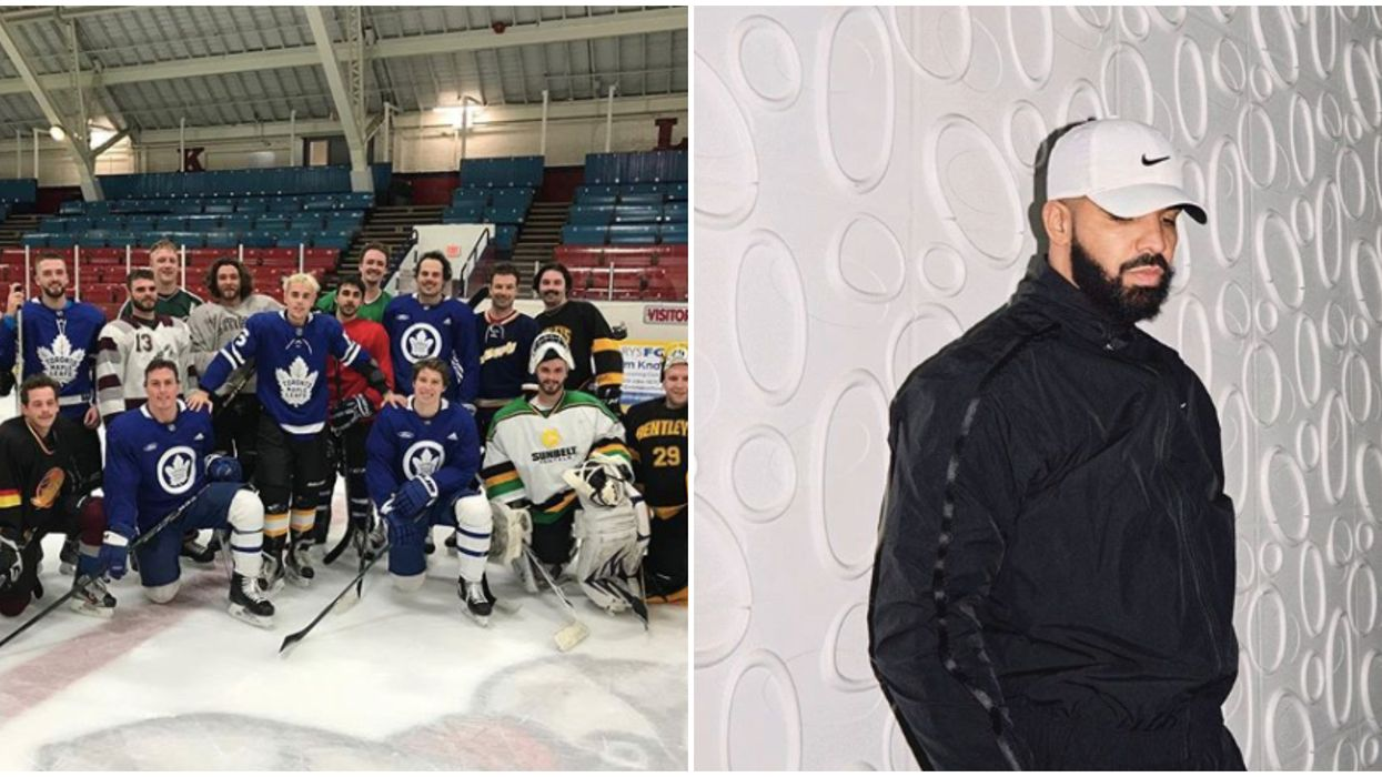 Justin Bieber And The Toronto Maple Leafs Didn't Invite Drake To Play & He's Salty