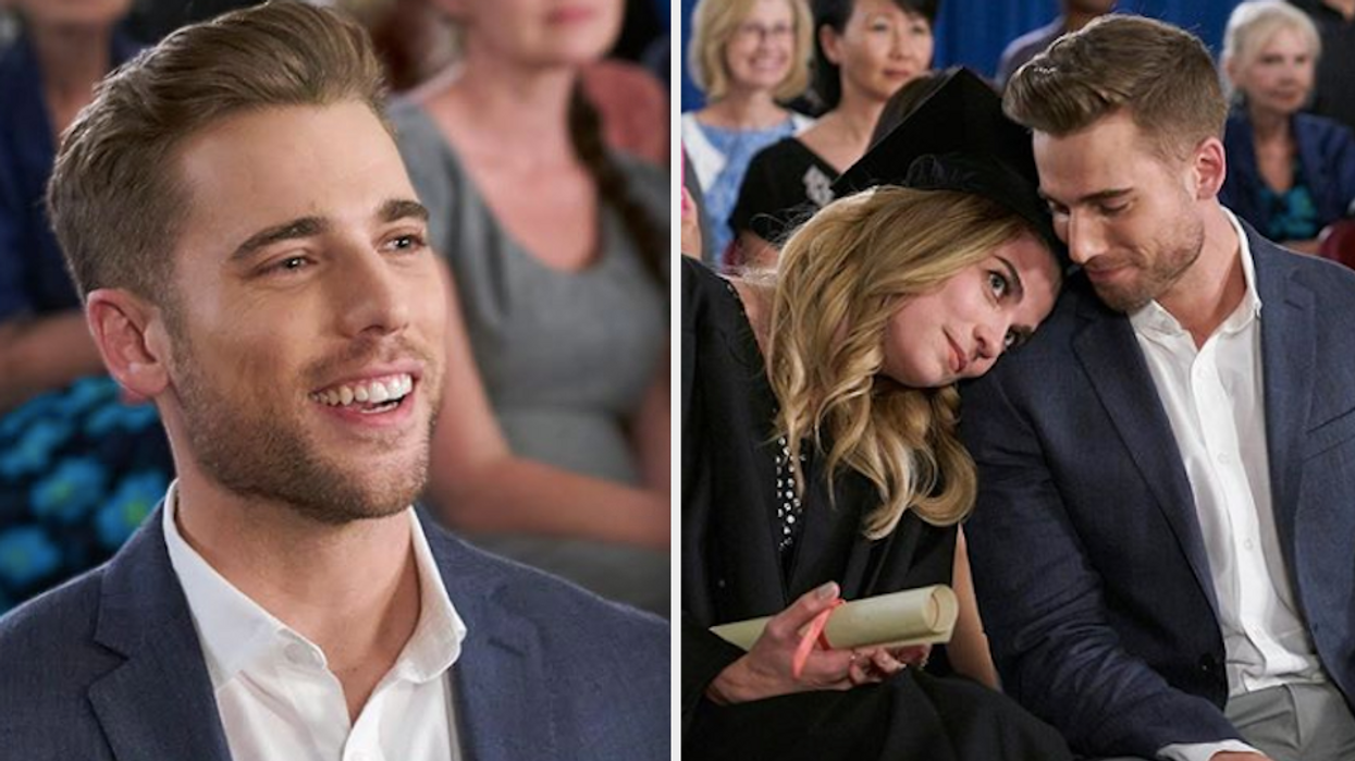 Though it feels like no one is ready to say goodbye to the Rose family onSchitt's Creek,there are tons of other characters we'll also be sobbing over when it ends. Alexis wouldn't be the same without her love Ted, and the hunky actor might have you asking is Dustin Milligan Canadian? He comes from a super small town up north and has been in the acting industry since the early 2000s.