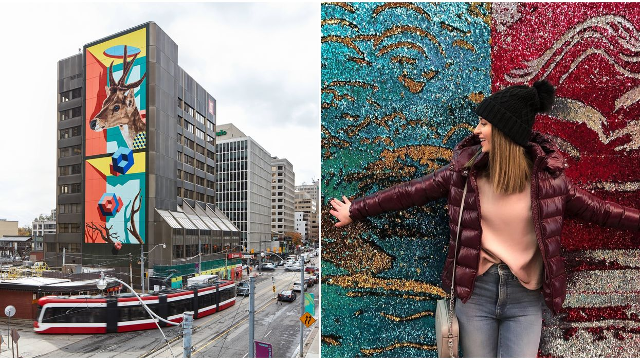 New Toronto Art Projects That Took Over Yonge & St. Clair This Year