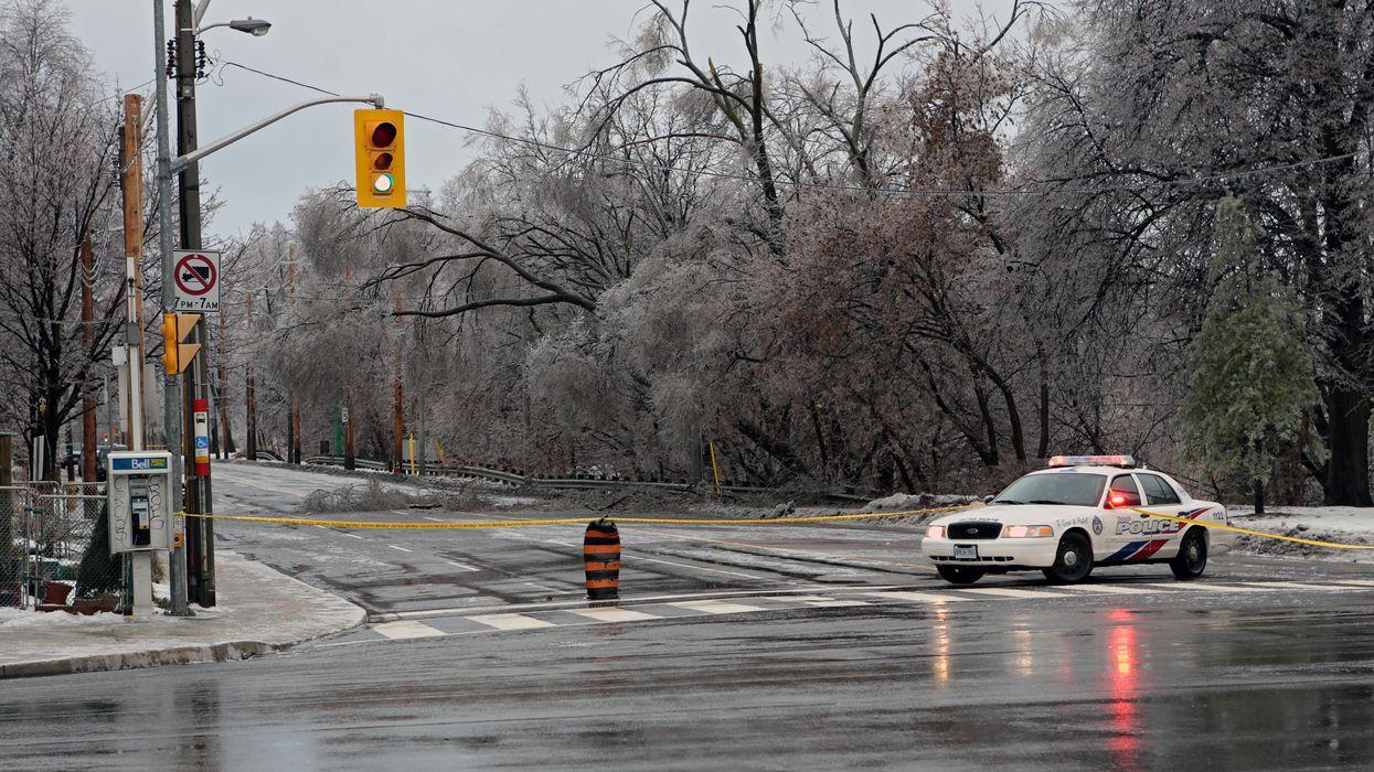 Ontario Freezing Rain Alert Is Causing A Commuting Nightmare