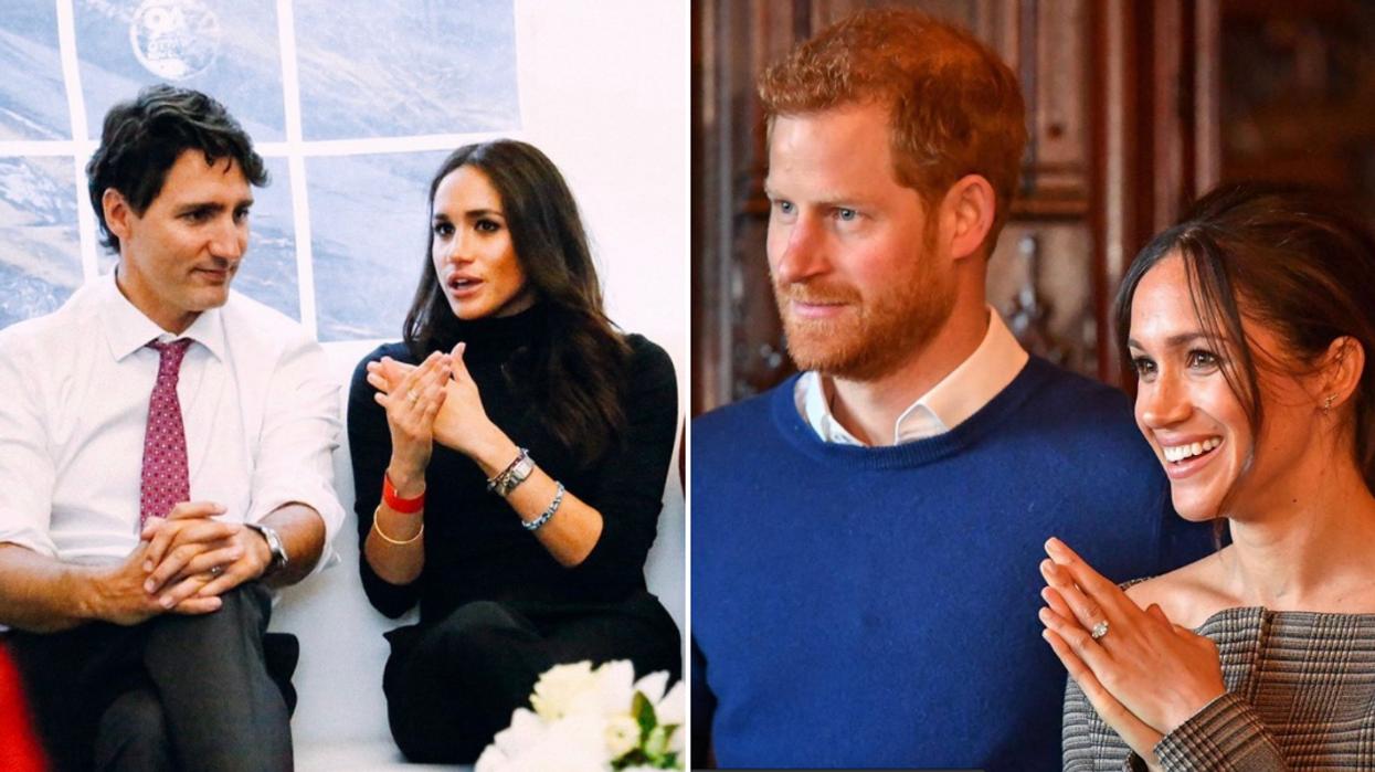 Prince Harry & Meghan Markle Chose Canadian Christmas