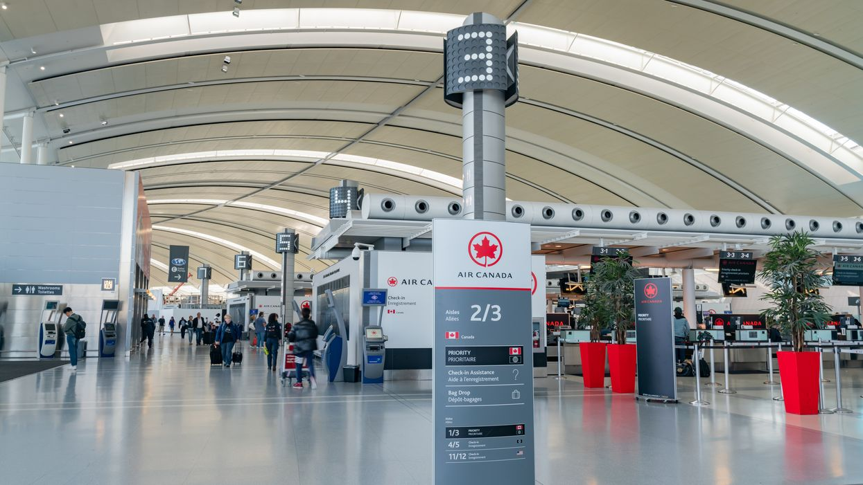 Pearson Airport Delays Are Being Caused By Ontario's Ice Storm