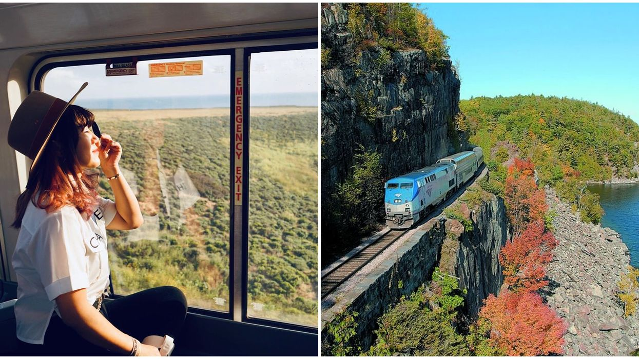 Train Across The U.S.: 35-Hour Trip Near BC Takes You To Los Angeles and Seattle