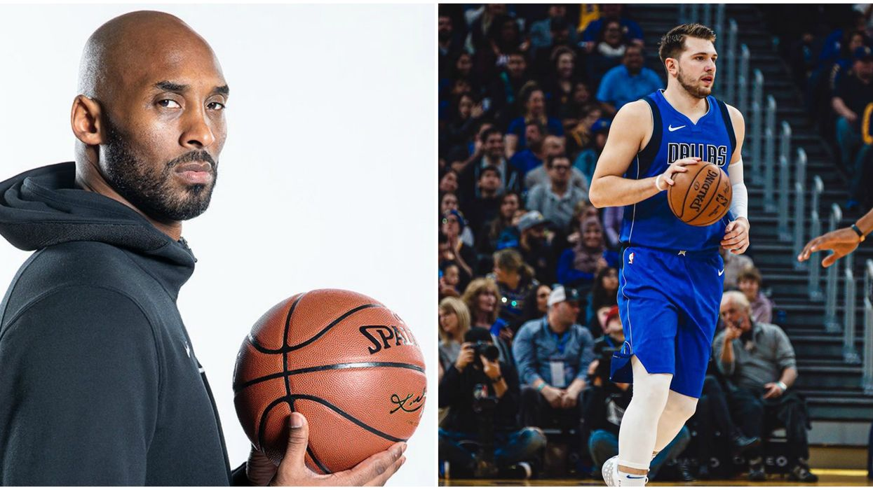 Kobe Bryant Luka Doncic Trash-Talking Moment Last Night Is A Must See