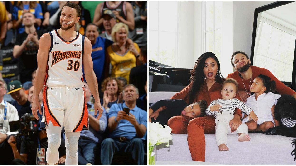 This Steph Curry Handshake With His Daughter Has Us All Melting