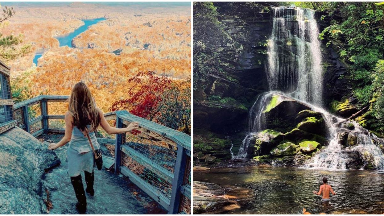 Cool Places To Go In North Carolina That Will Give You Enchanting Nature Views