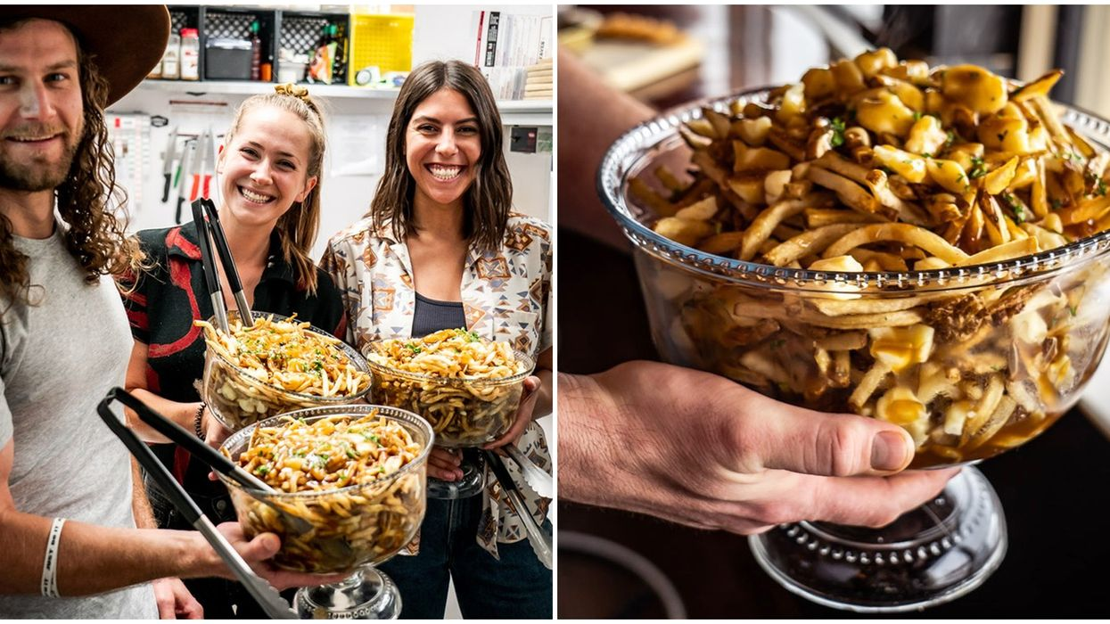 Poutine In Edmonton: Over 5 lbs Of Poutine In A Giant Punch Bowl Coming Soon