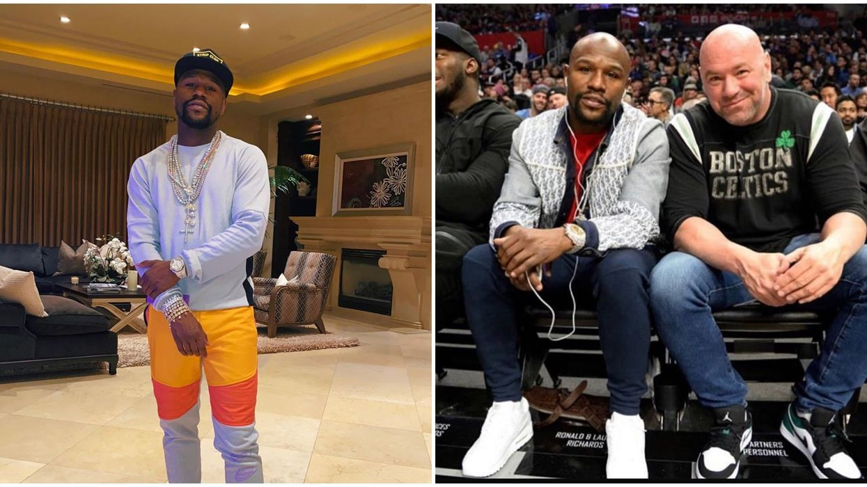Las Vegas Star Floyd Mayweather Rumors' Suggest There Will Be A Crossover Fight In 2020