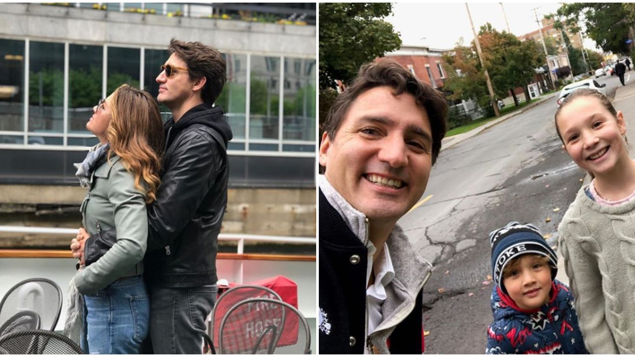 Justin & Sophie Trudeau's New Years Insta Post Prove People Are Obsessed With Their Family