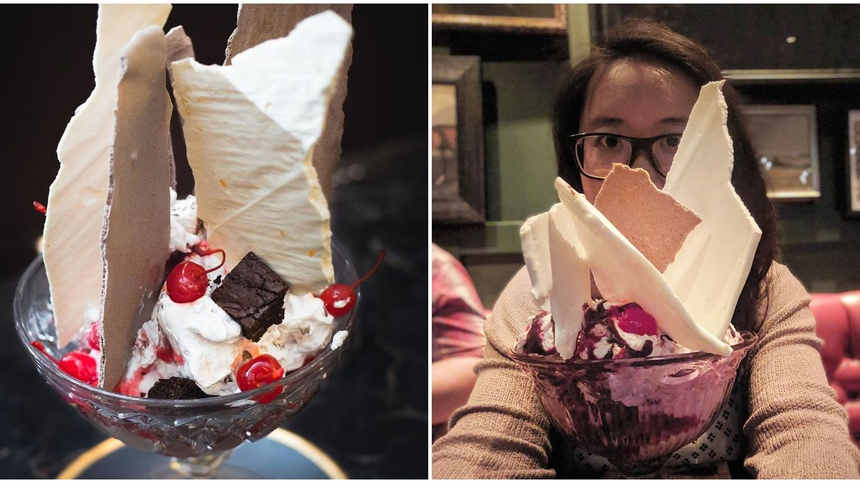Edmonton's Giant Brownie Sundaes Are Are Bigger Than Your Head