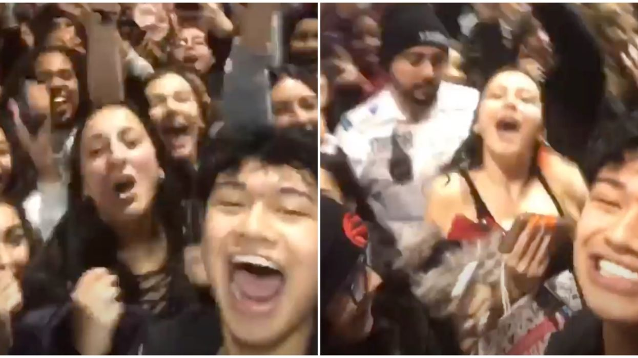 TikTok Star Causes Chaos At The Eaton Centre With A Surprise Meet-And-Greet (VIDEO)